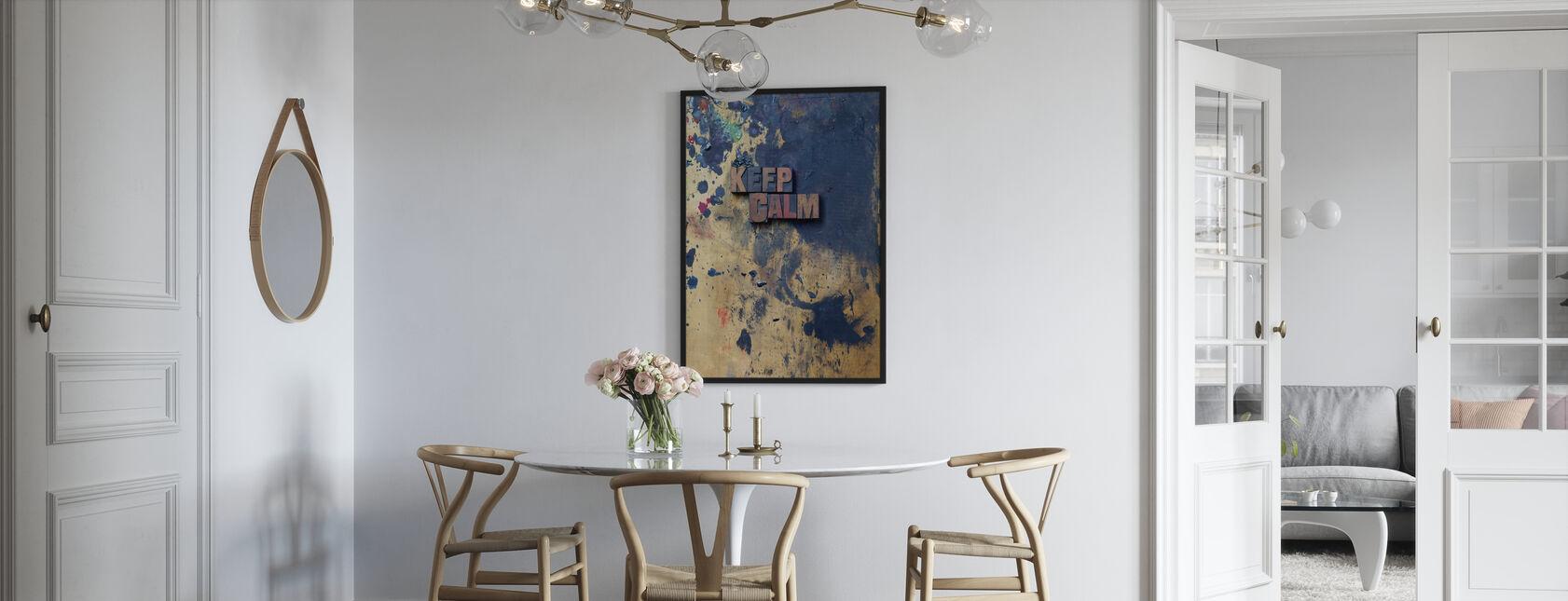 Mantenere la calma - Poster - Cucina