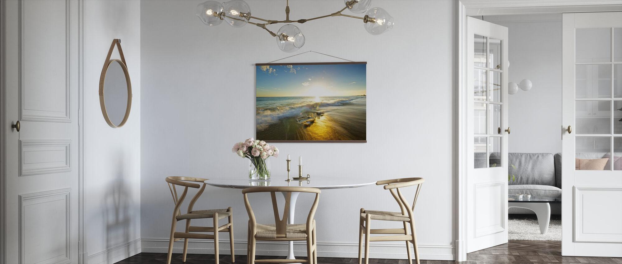 Golden Afternoon at Fangsheng - Poster - Kitchen