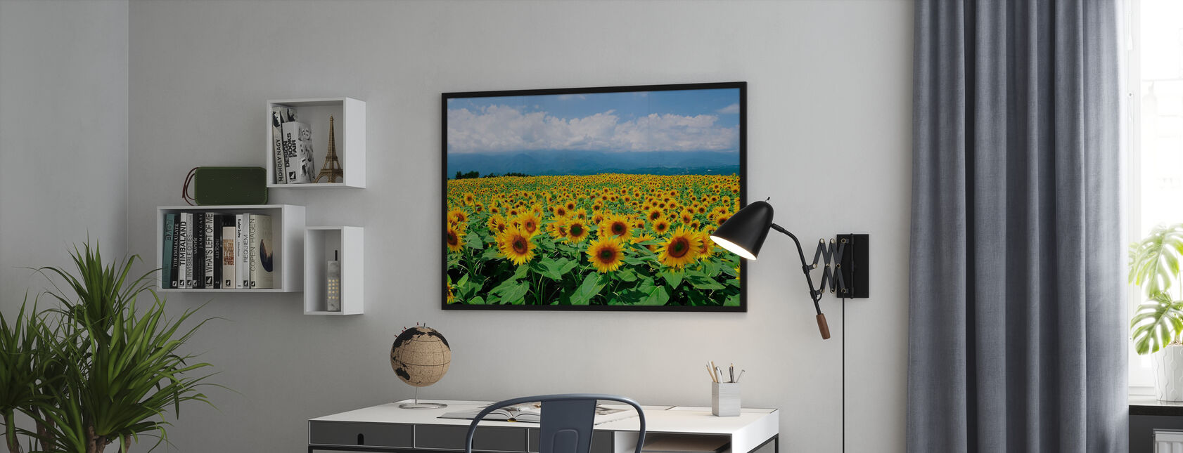 Sunflowers in Sunny Weather - Poster - Office