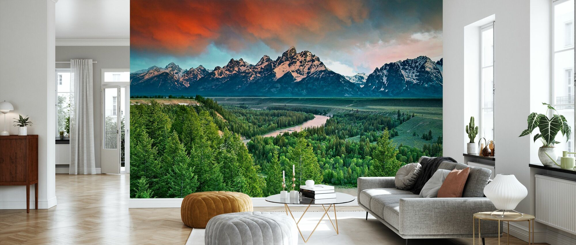 Snake River - Wallpaper - Living Room