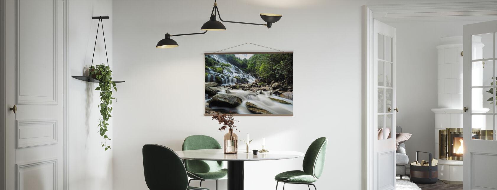 Maeya Wasserfall - Poster - Küchen