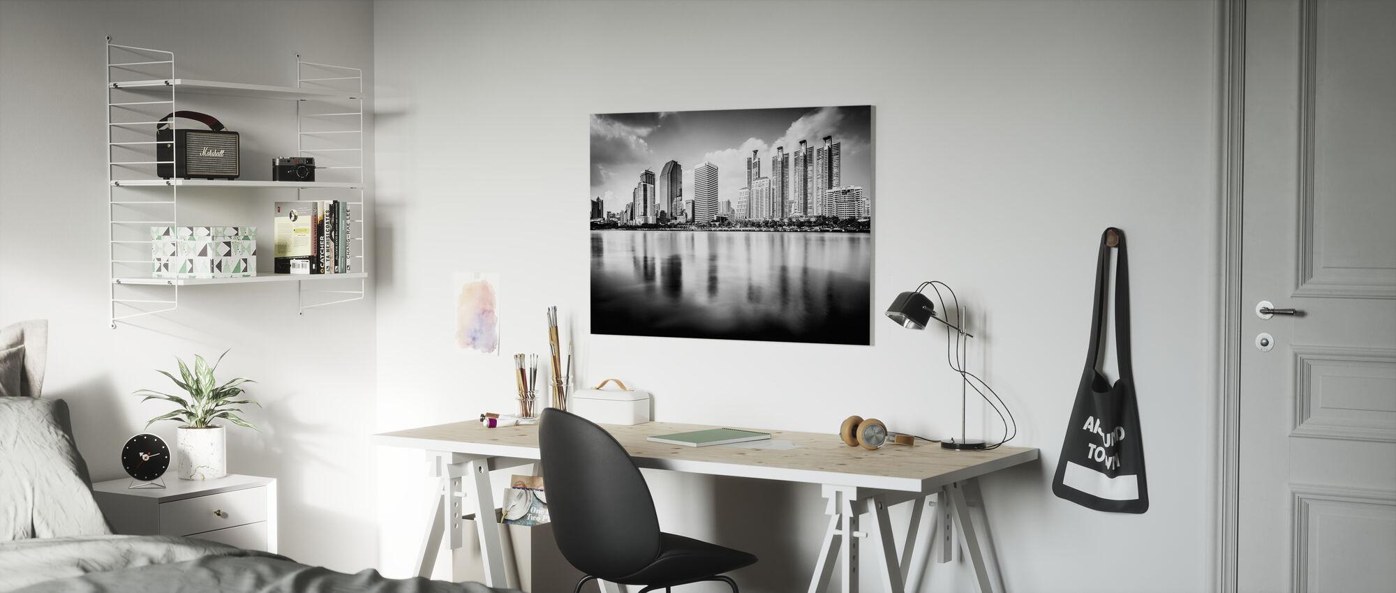 Bangkok Skyline - Canvastavla - Barnrum