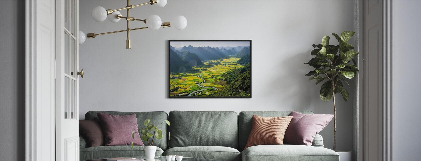 Bacha-Tal - Poster - Wohnzimmer