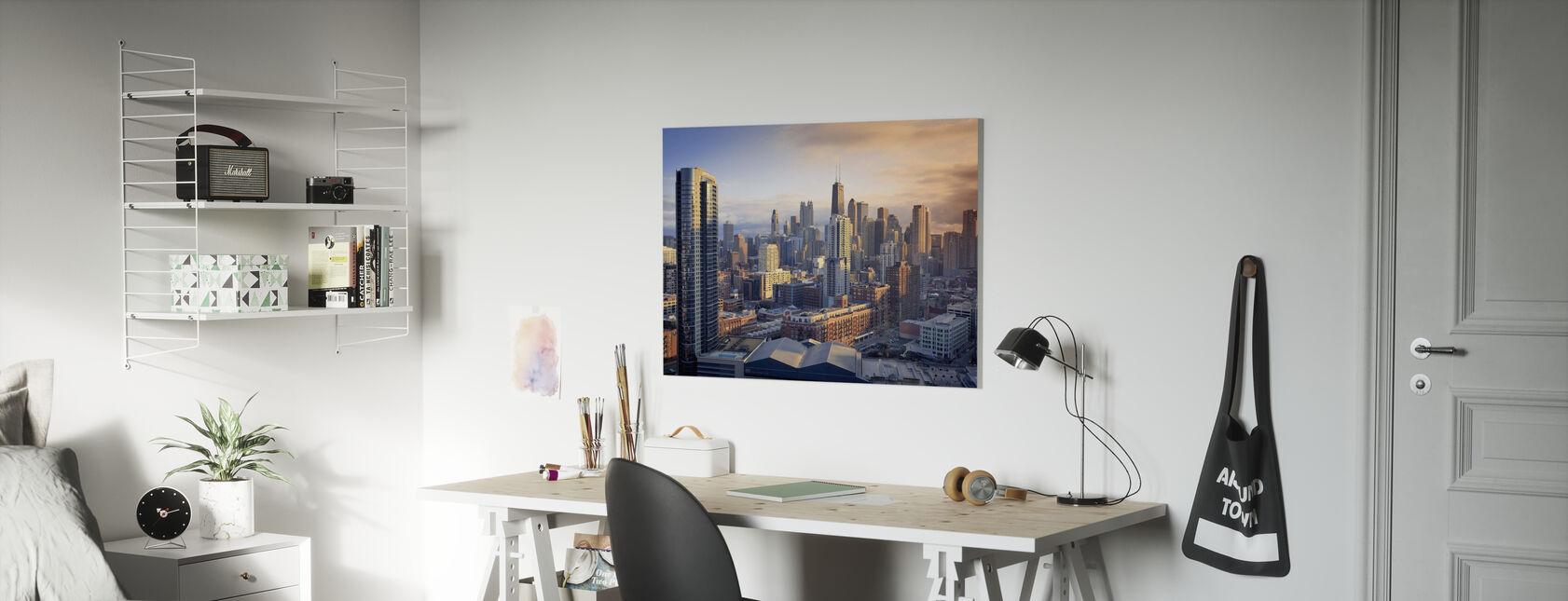 Chicago Symfonie - Canvas print - Kinderkamer