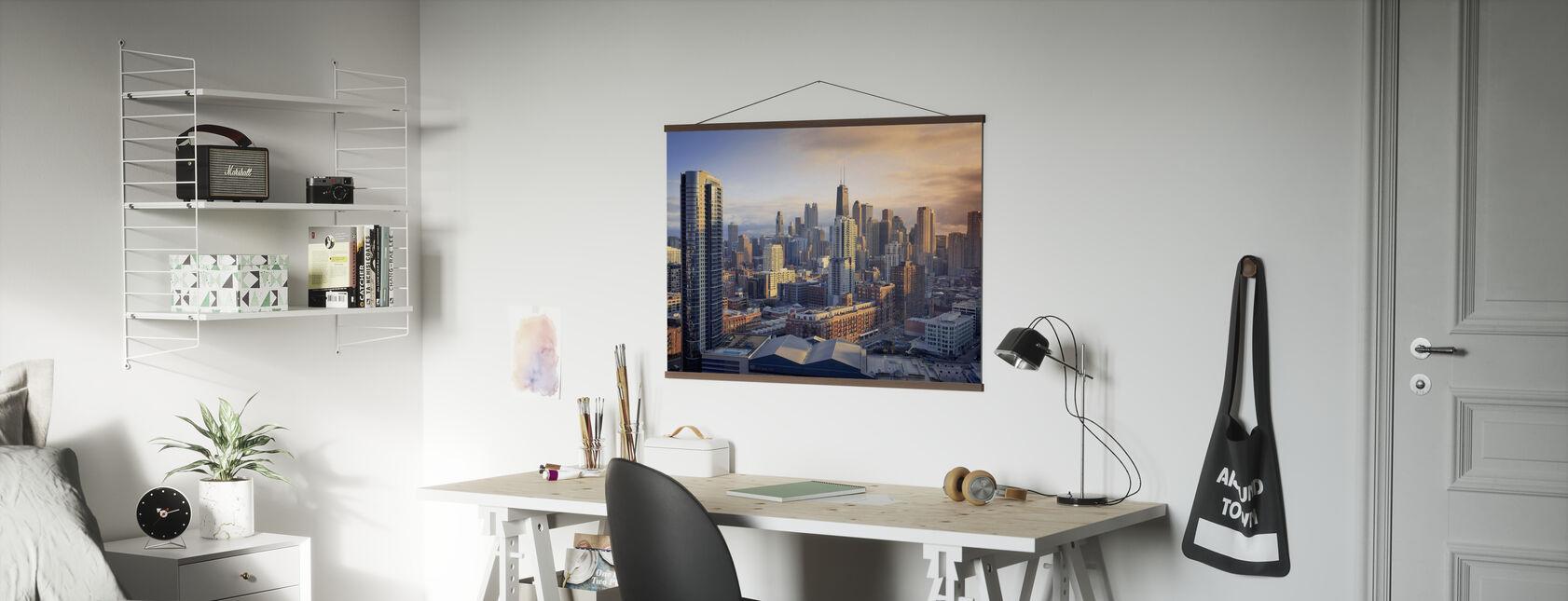 Chicago Symfonie - Poster - Kantoor