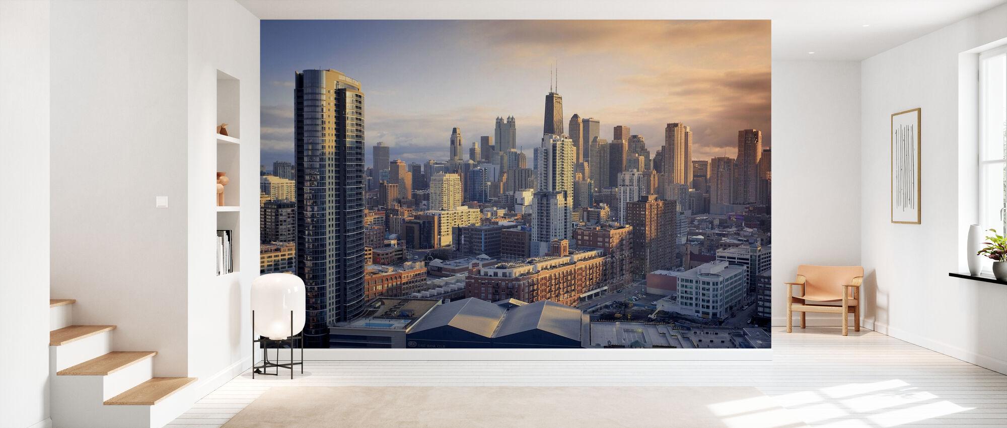 Sinfonía de Chicago - Papel pintado - Corredor