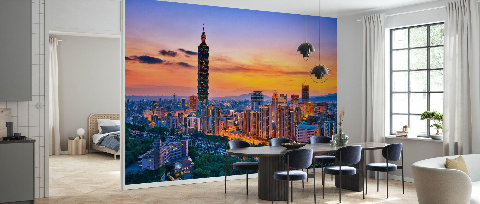 Taipei i Sunset - Tapet - Kök