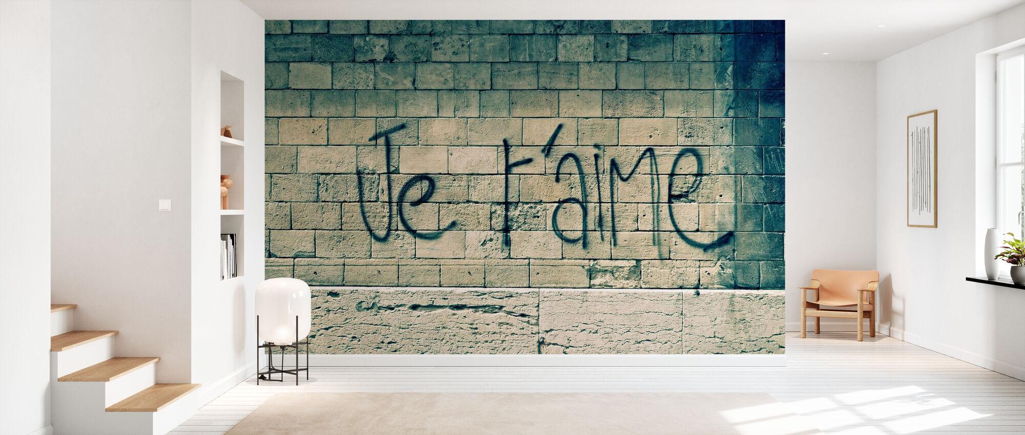 I love you - Wallpaper - Hallway