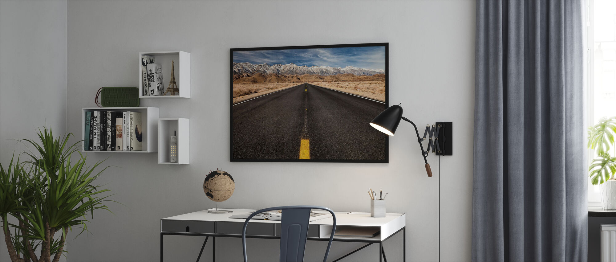 Rocky Mountain Road - Poster - Office