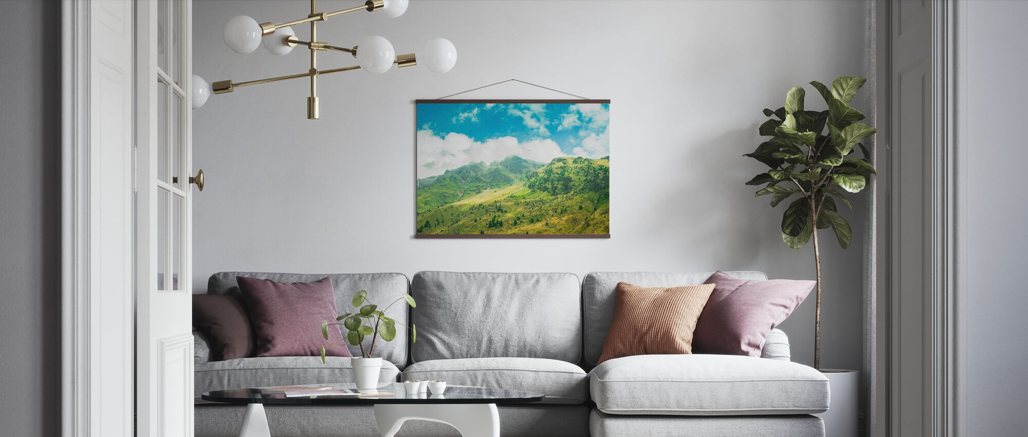 Chasing Space - Poster - Living Room