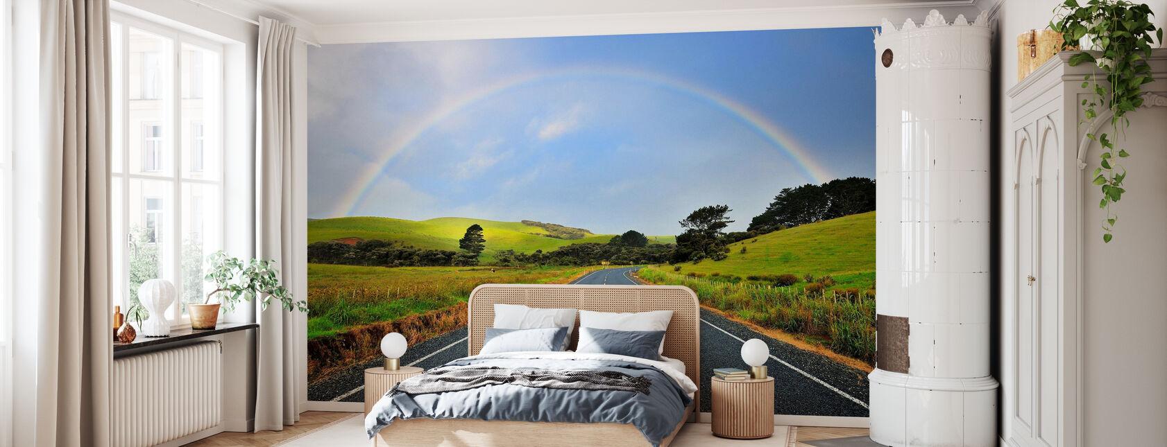 Rainbow Road - Tapet - Soveværelse