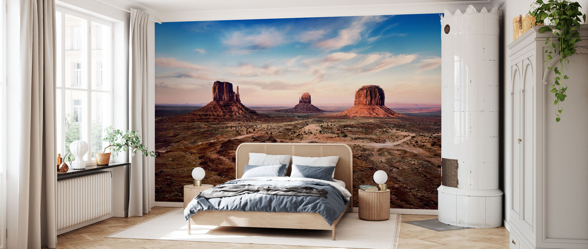 Sunset over Auburn Rocks - Wallpaper - Bedroom