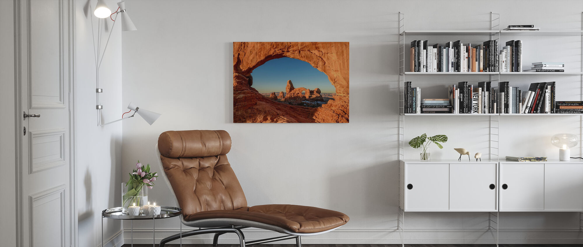 Natural Window - Canvas print - Living Room
