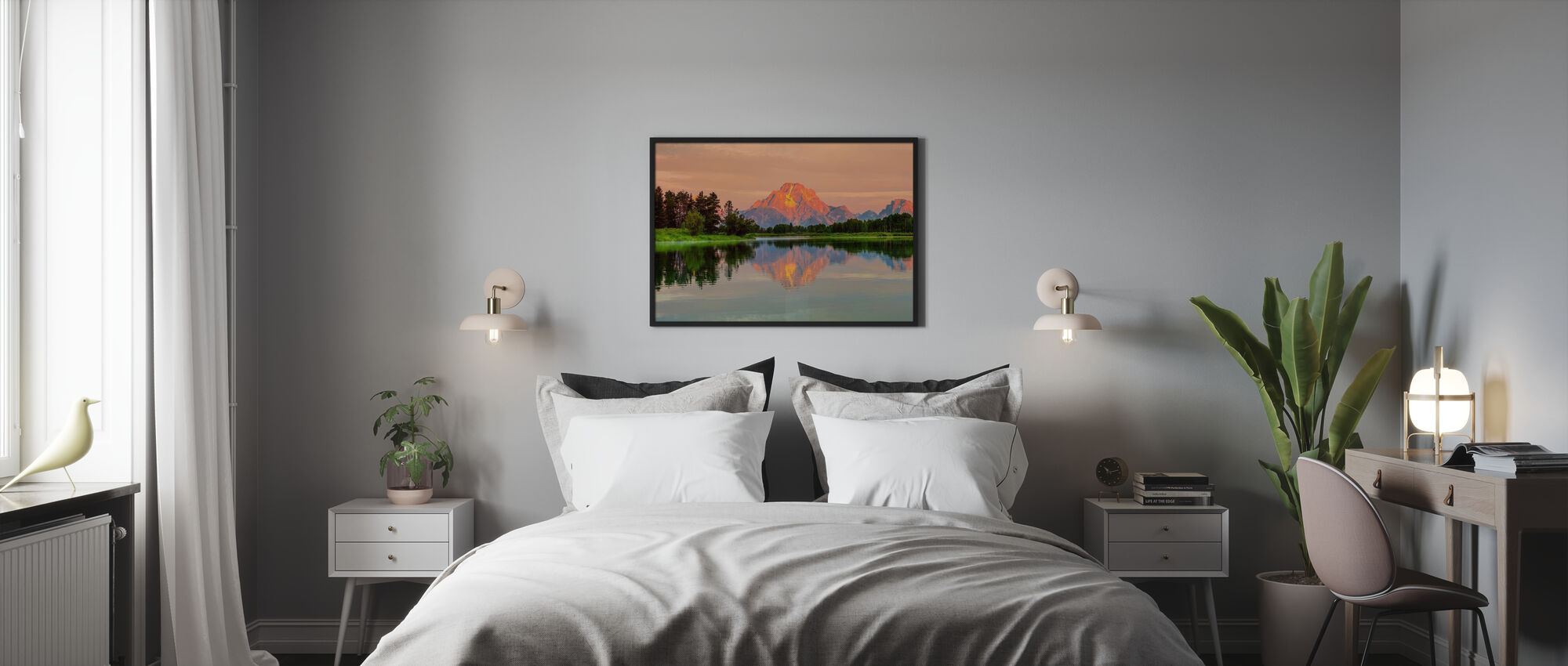 Grand Teton Sunrise - Poster - Bedroom