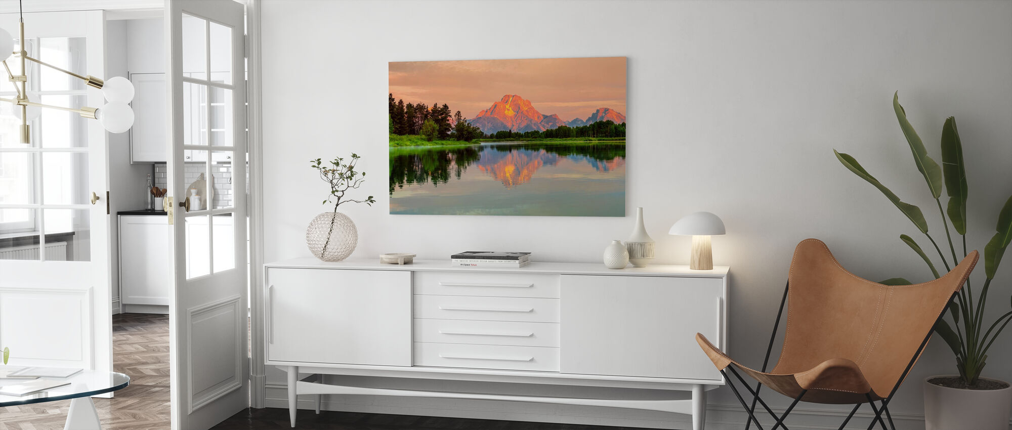 Grand Teton Sunrise - Canvas print - Living Room