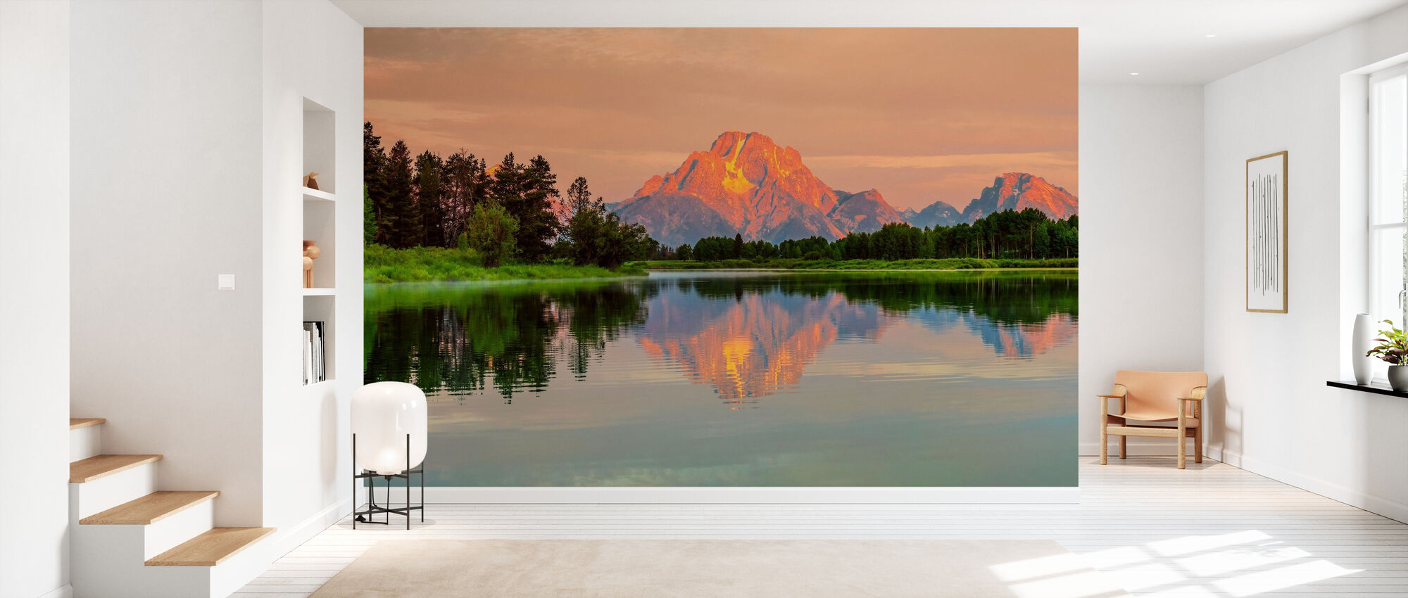 Grand Teton Sunrise - Tapet - Hall