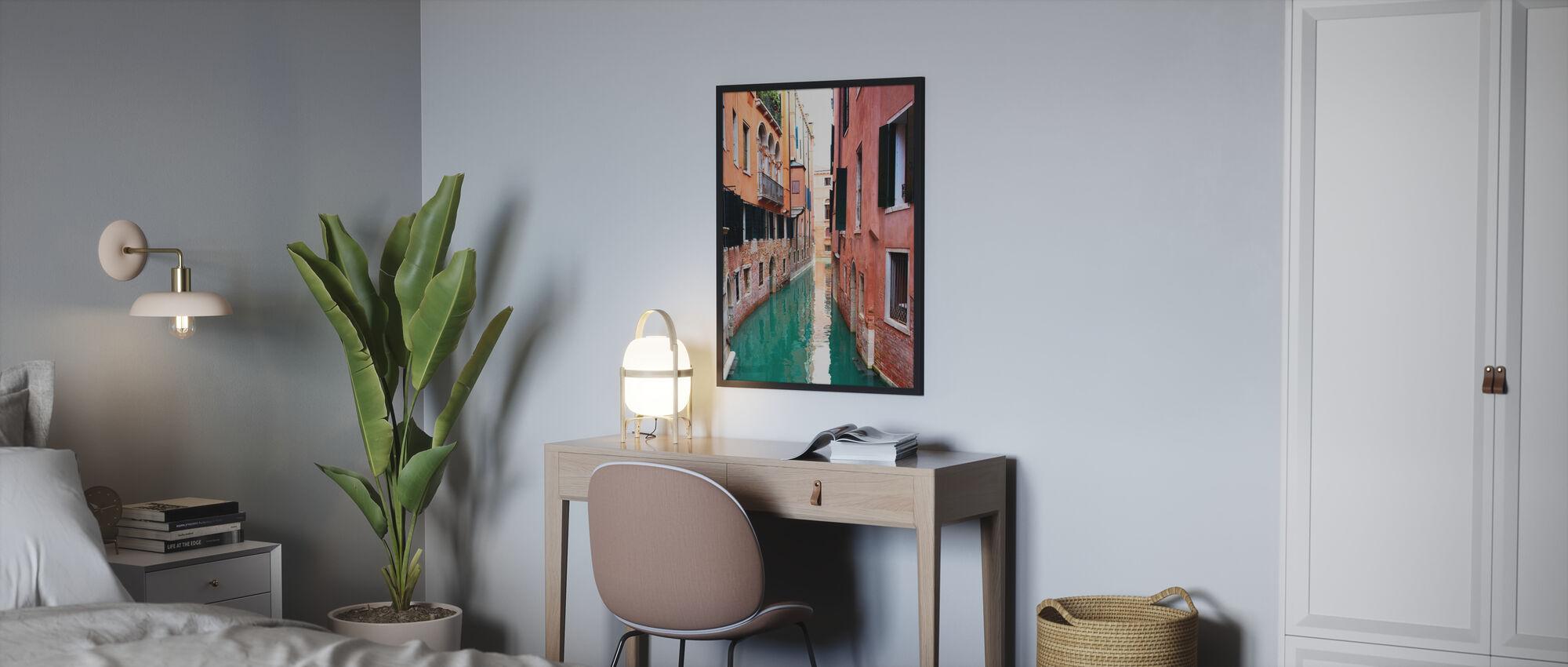 Lugn i Venedig - Inramad tavla - Sovrum