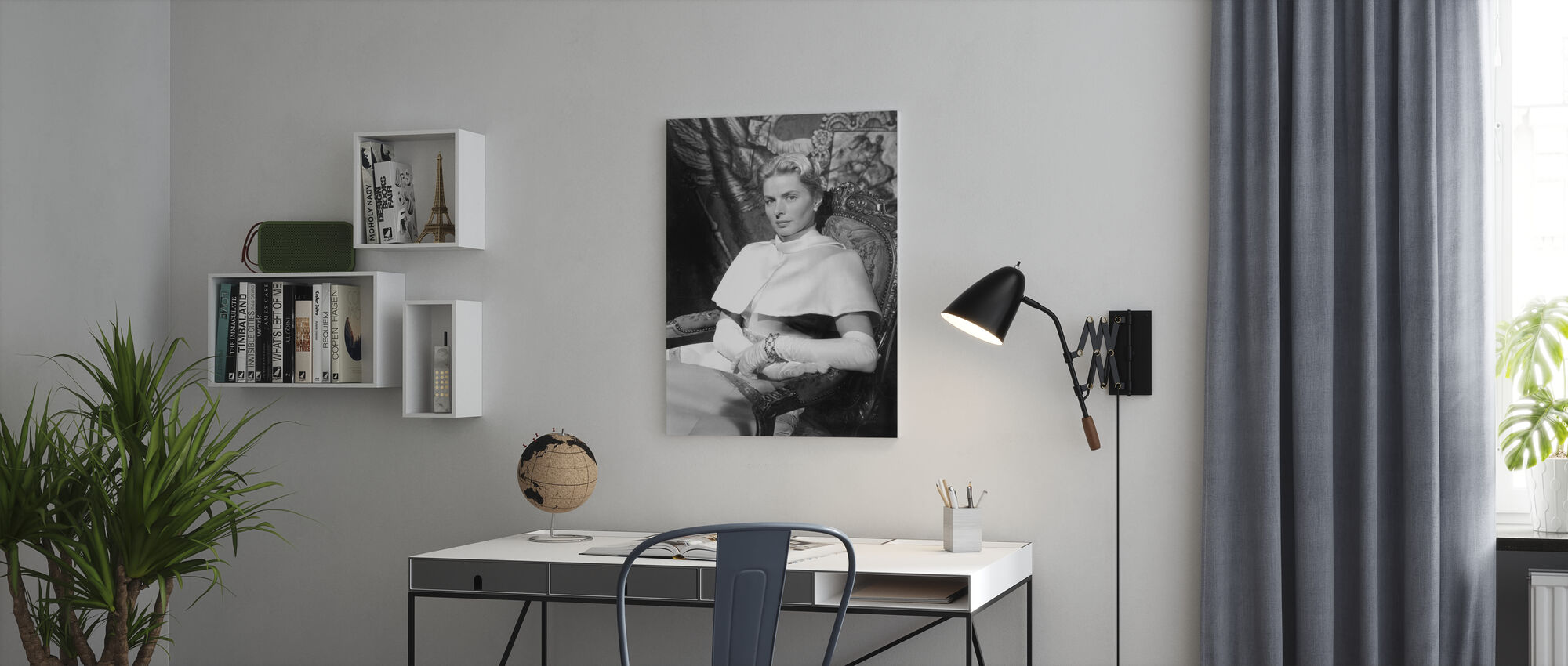 Anastasia 1986 - Canvas print - Office