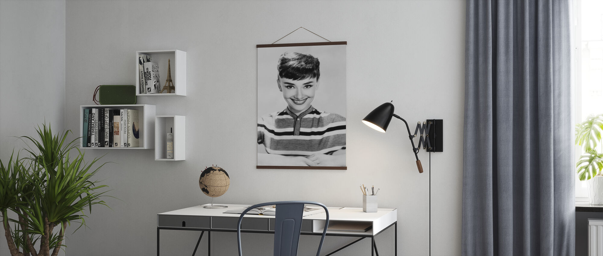 Aud in Stripes - Poster - Office