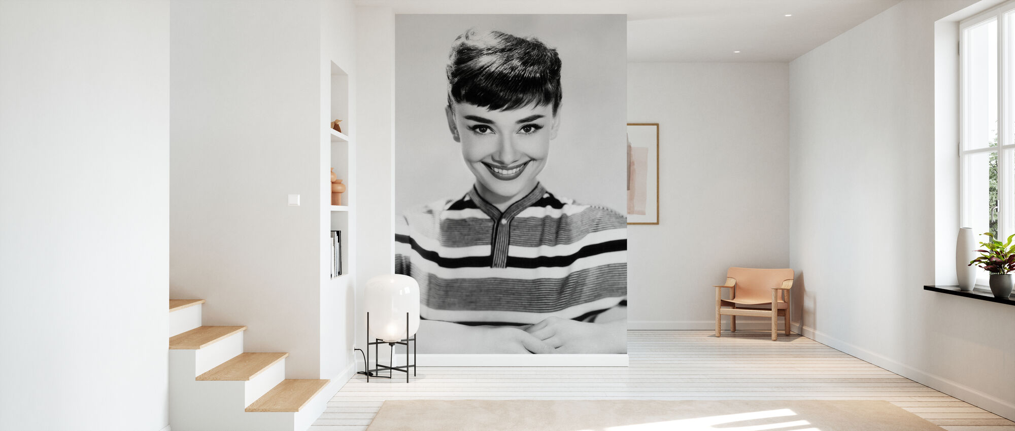 Aud in Stripes - Wallpaper - Hallway