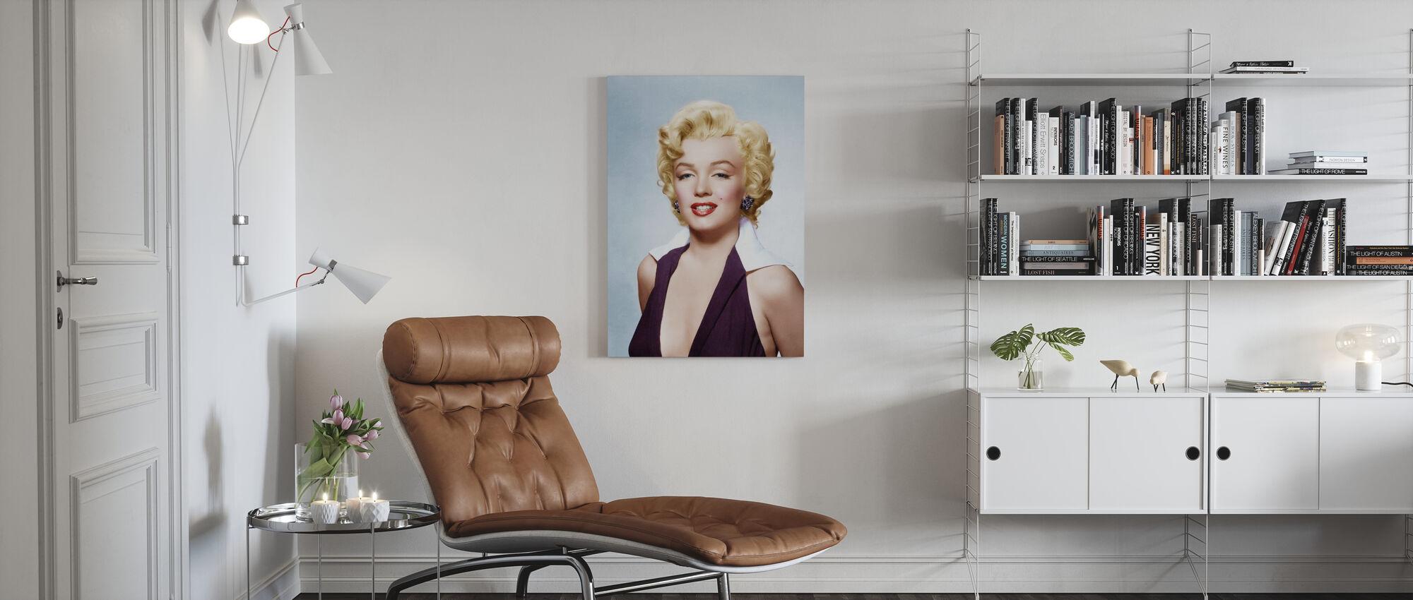 Blondin - Canvastavla - Vardagsrum