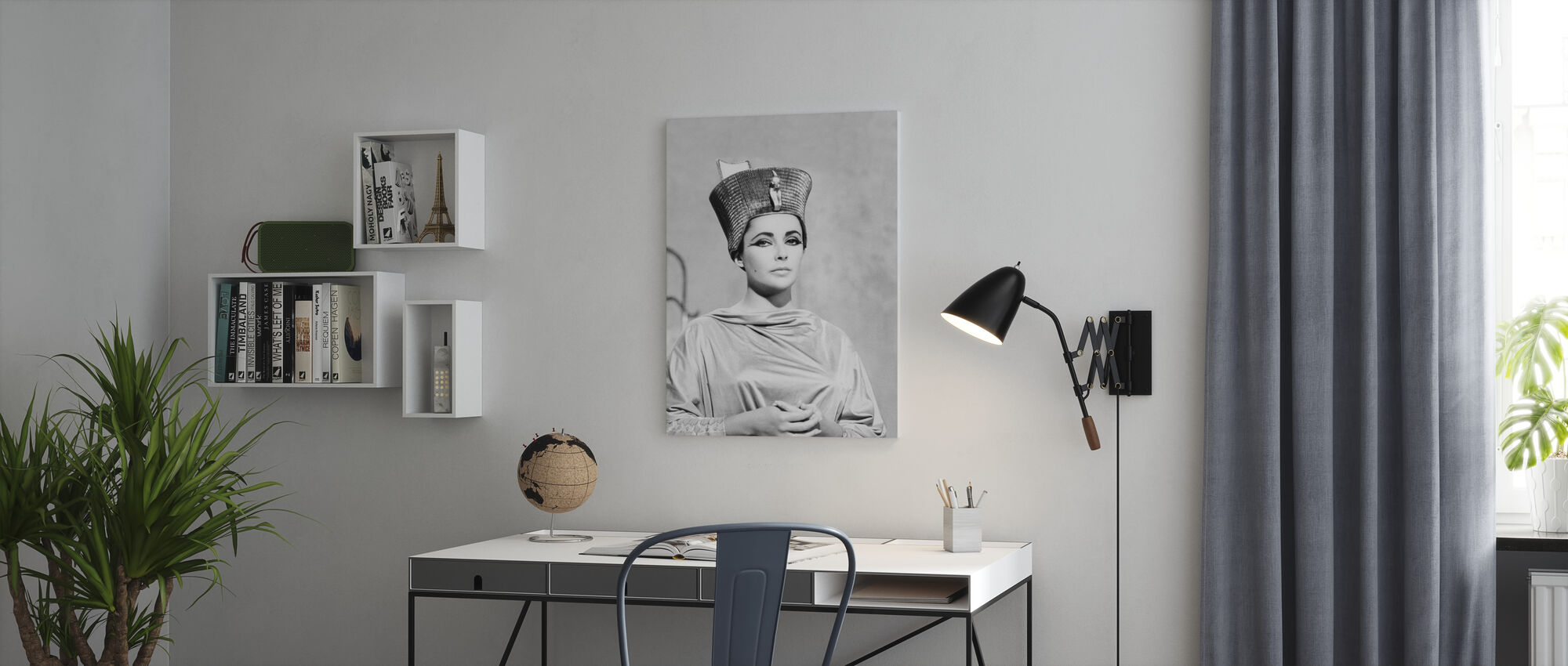 Cleopatra - Canvas print - Office