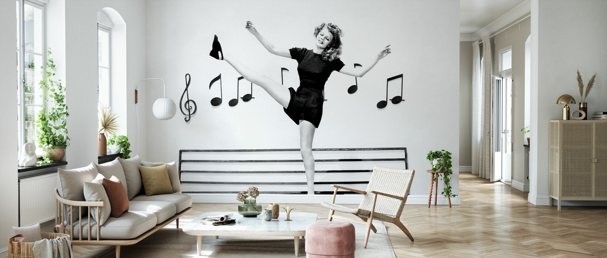Cover Girl - Wallpaper - Living Room