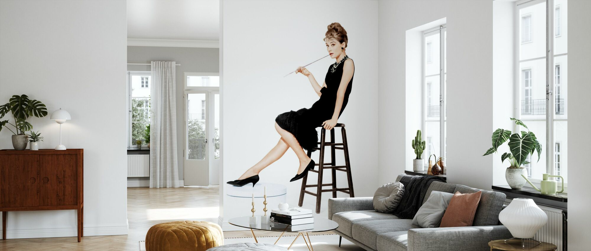 Holly Golightly - Behang - Woonkamer