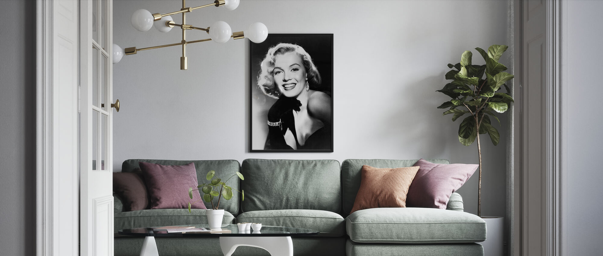 Hollywood's Elite - Poster - Living Room