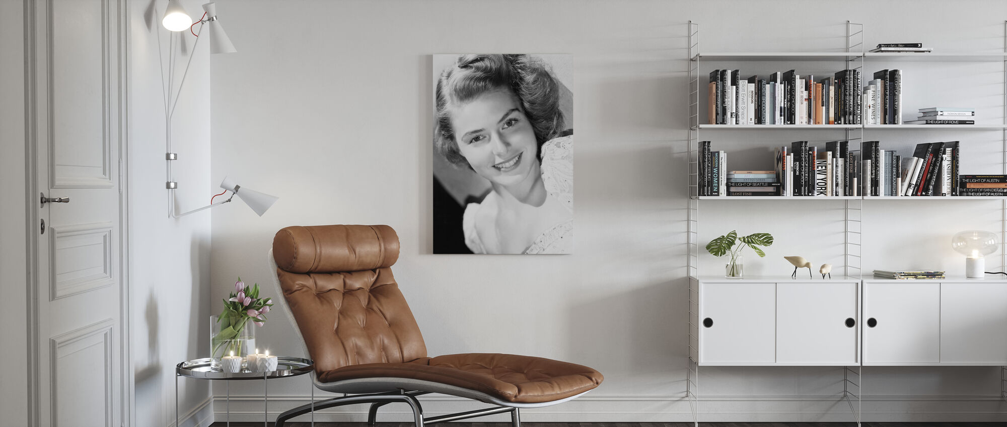 Hollywood´s Golden Age - Canvas print - Living Room