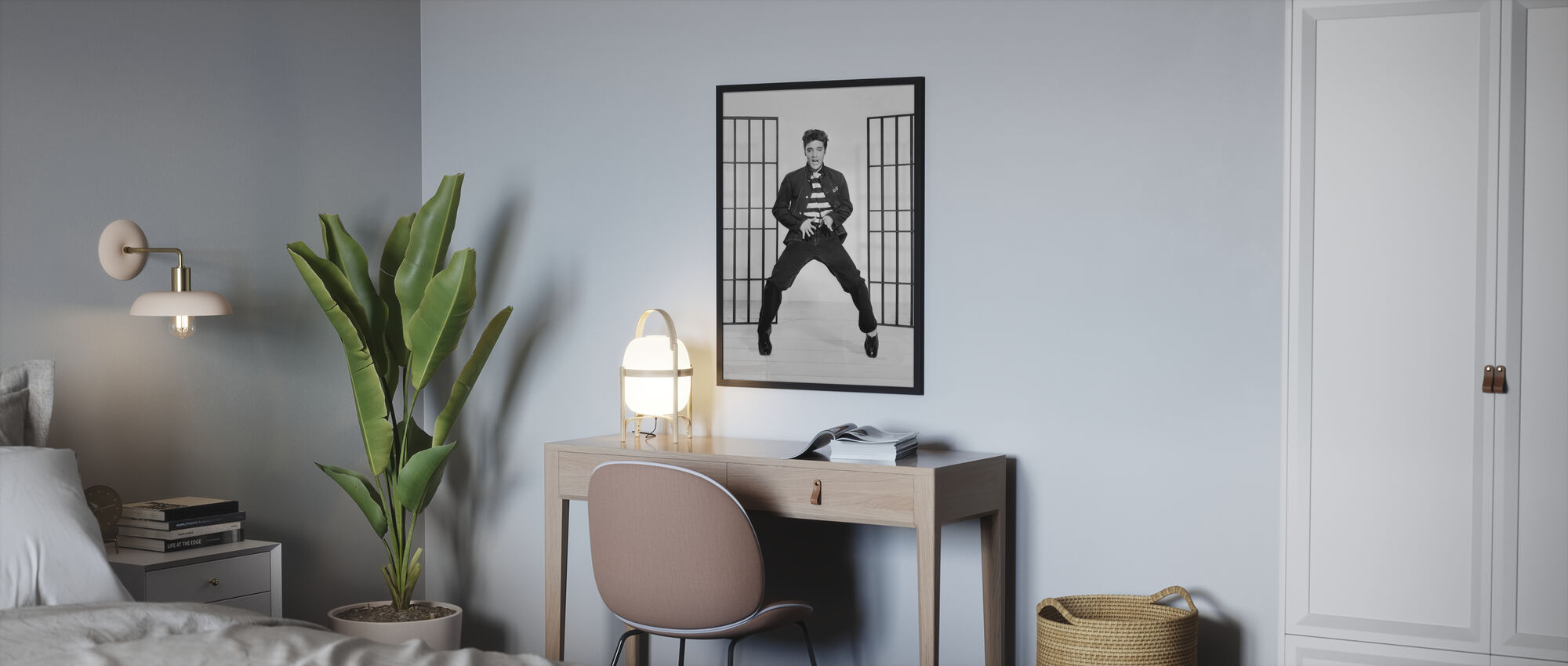 Jailhouse Rock 2 - Framed print - Bedroom