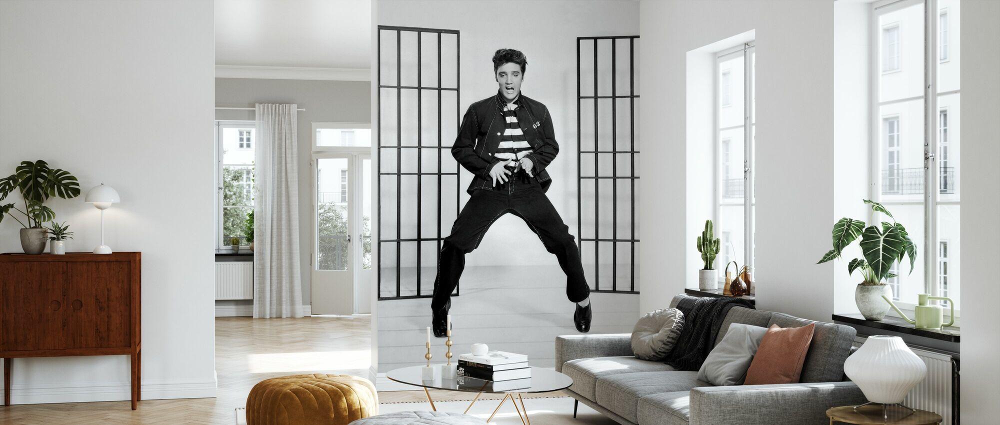 Jailhouse Rock 2 - Wallpaper - Living Room