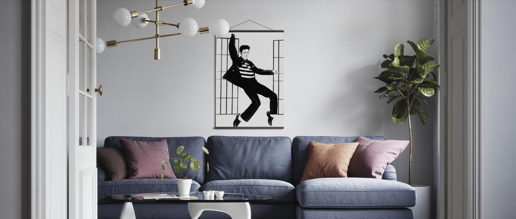Jailhouse Rock - Poster - Living Room