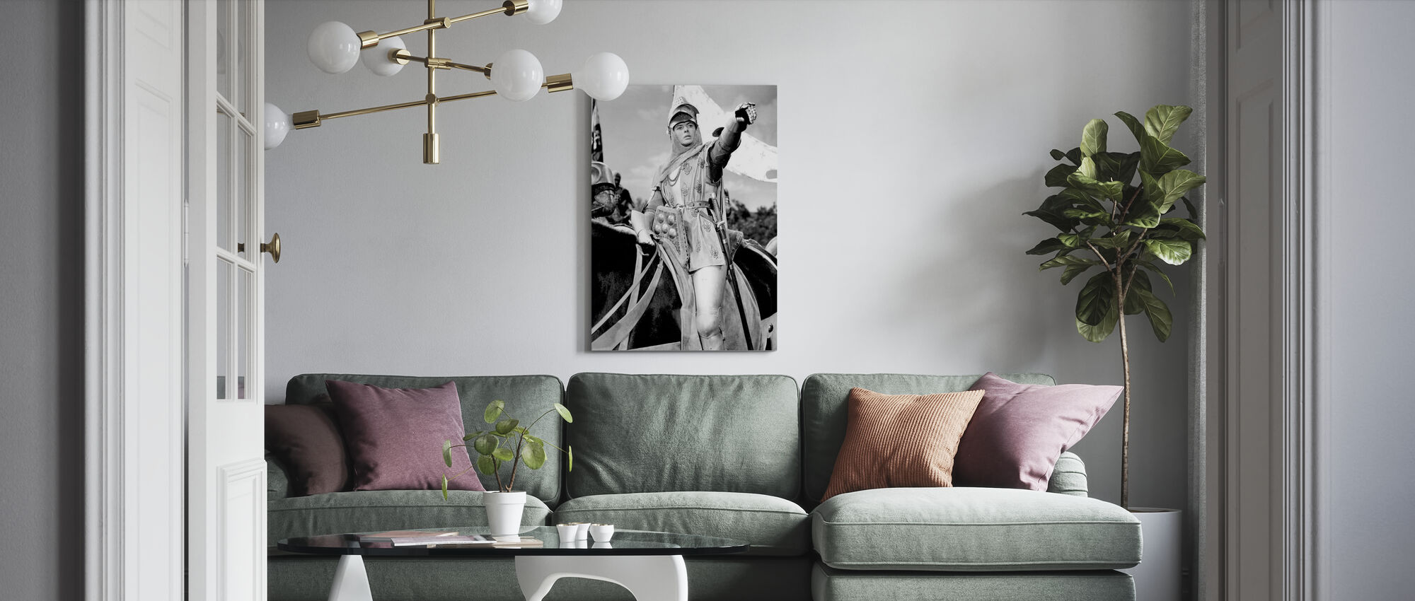 Joan of Arc - Canvas print - Living Room