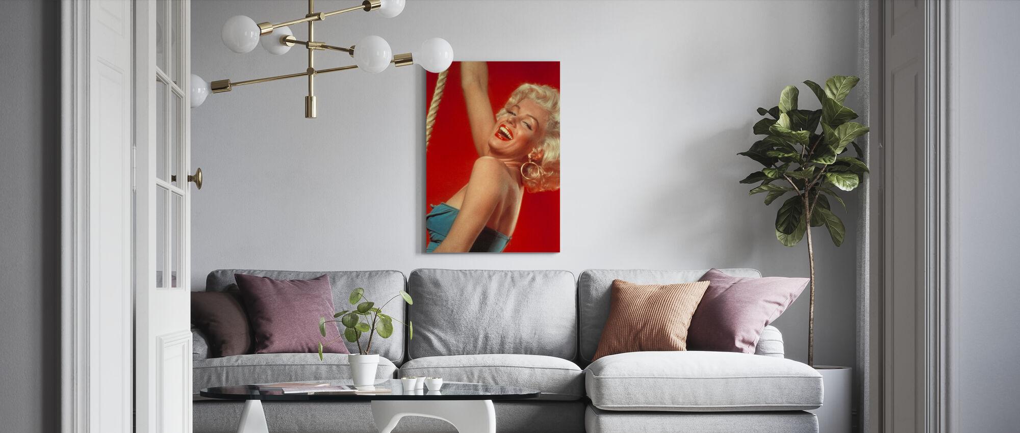 Legandary Blonde - Canvas print - Living Room
