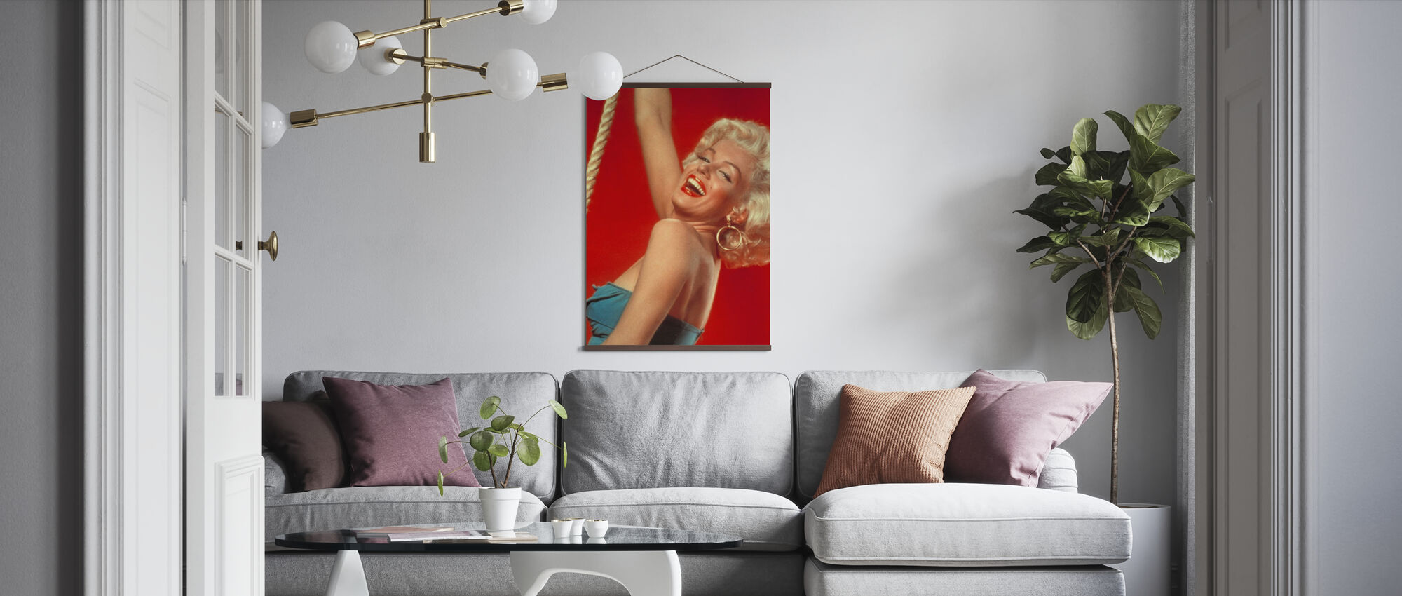 Legandary Blonde - Poster - Living Room