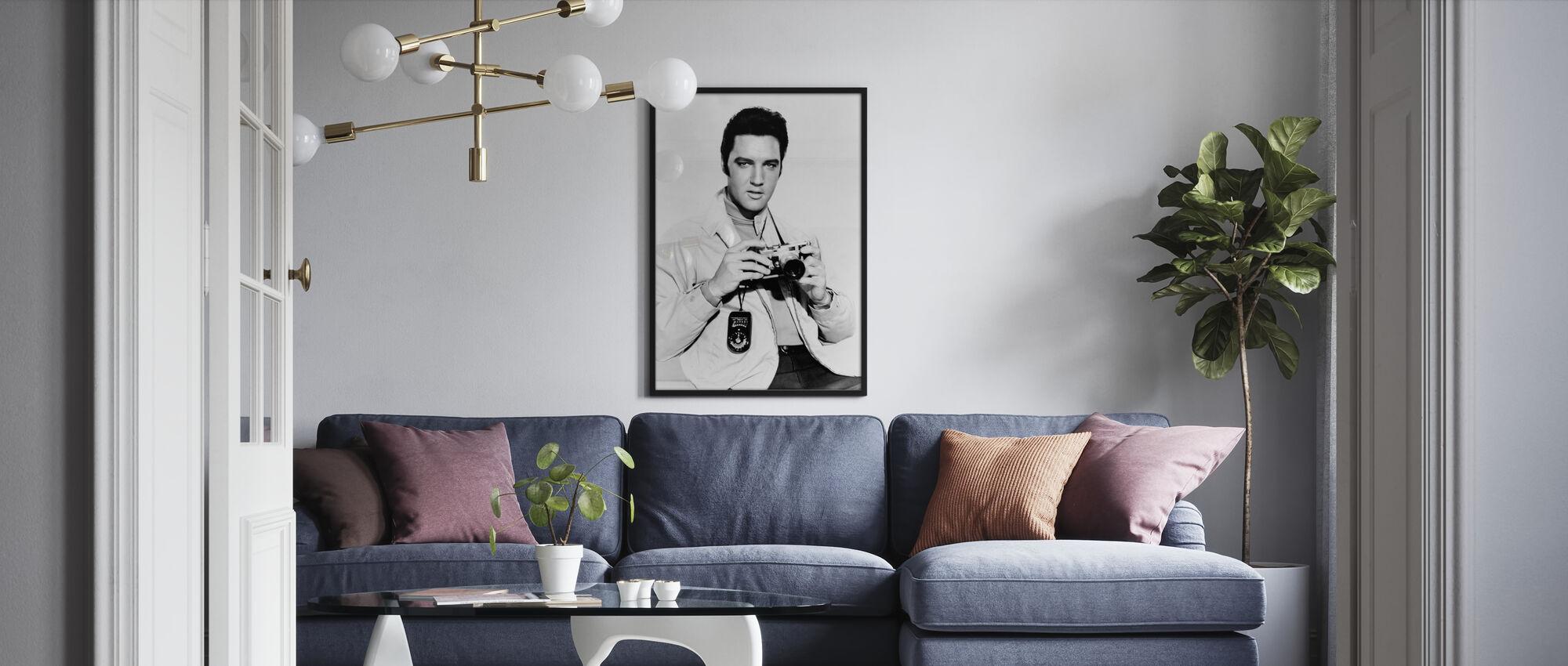 Live a Little, Love a Little - Poster - Living Room