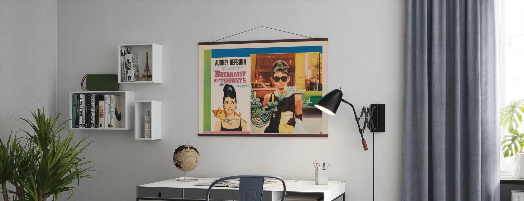 Poster de cinéma Petit déjeuner chez Tiffany's - Affiche - Bureau