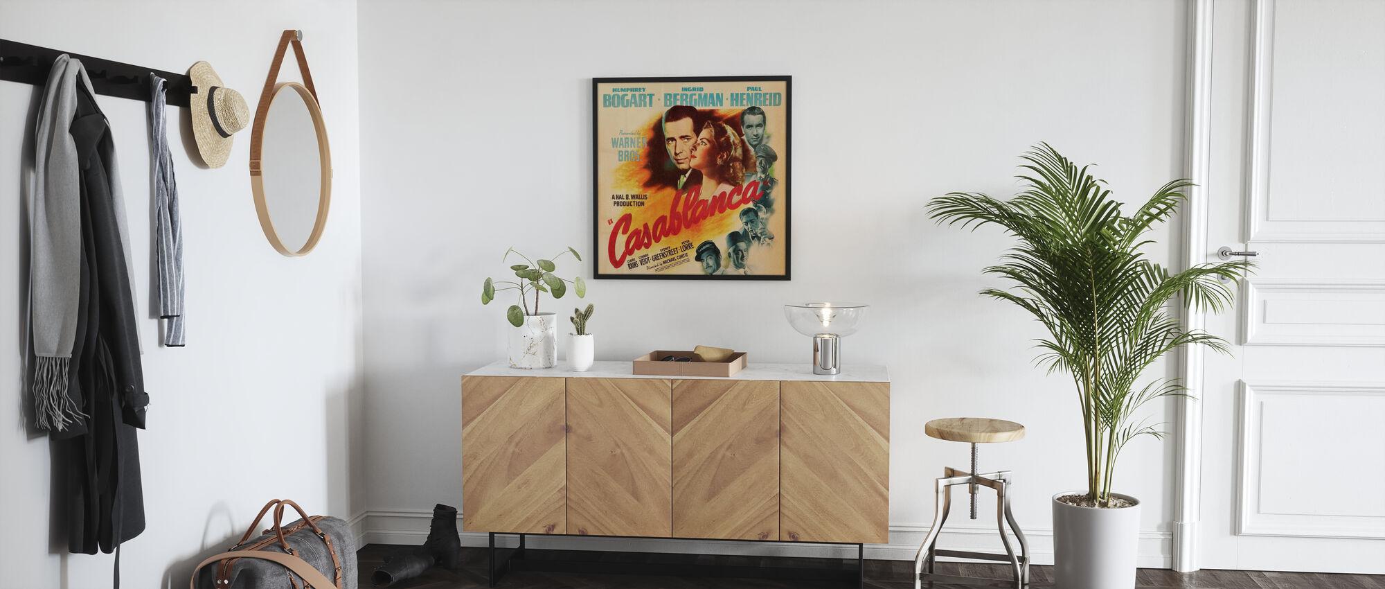 Movie Poster Casablanca - Poster - Hallway