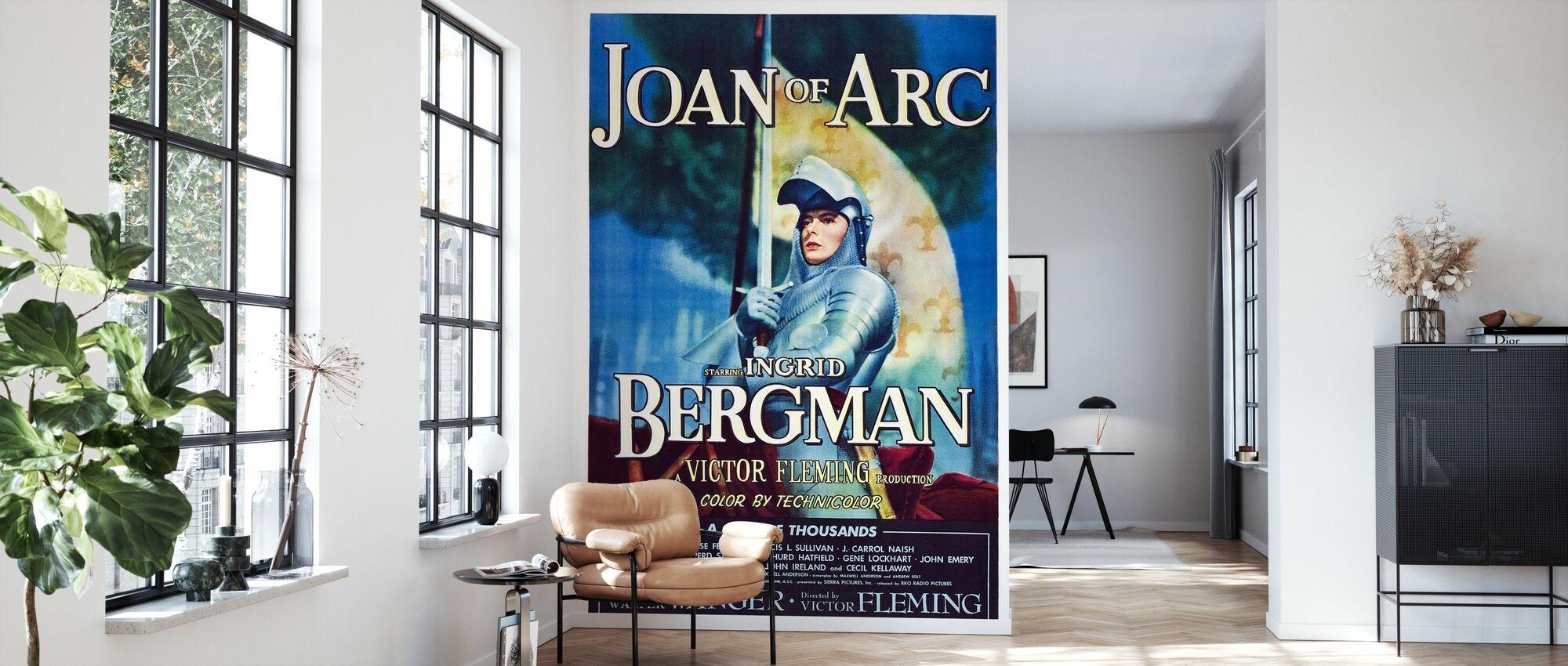 Movie Poster Joan of Arc - Wallpaper - Living Room