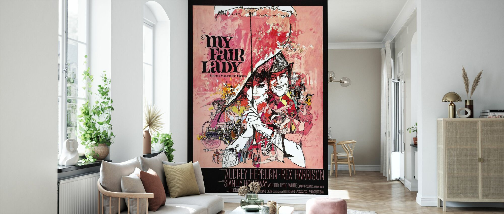 Movie Poster My Fair Lady - Wallpaper - Living Room