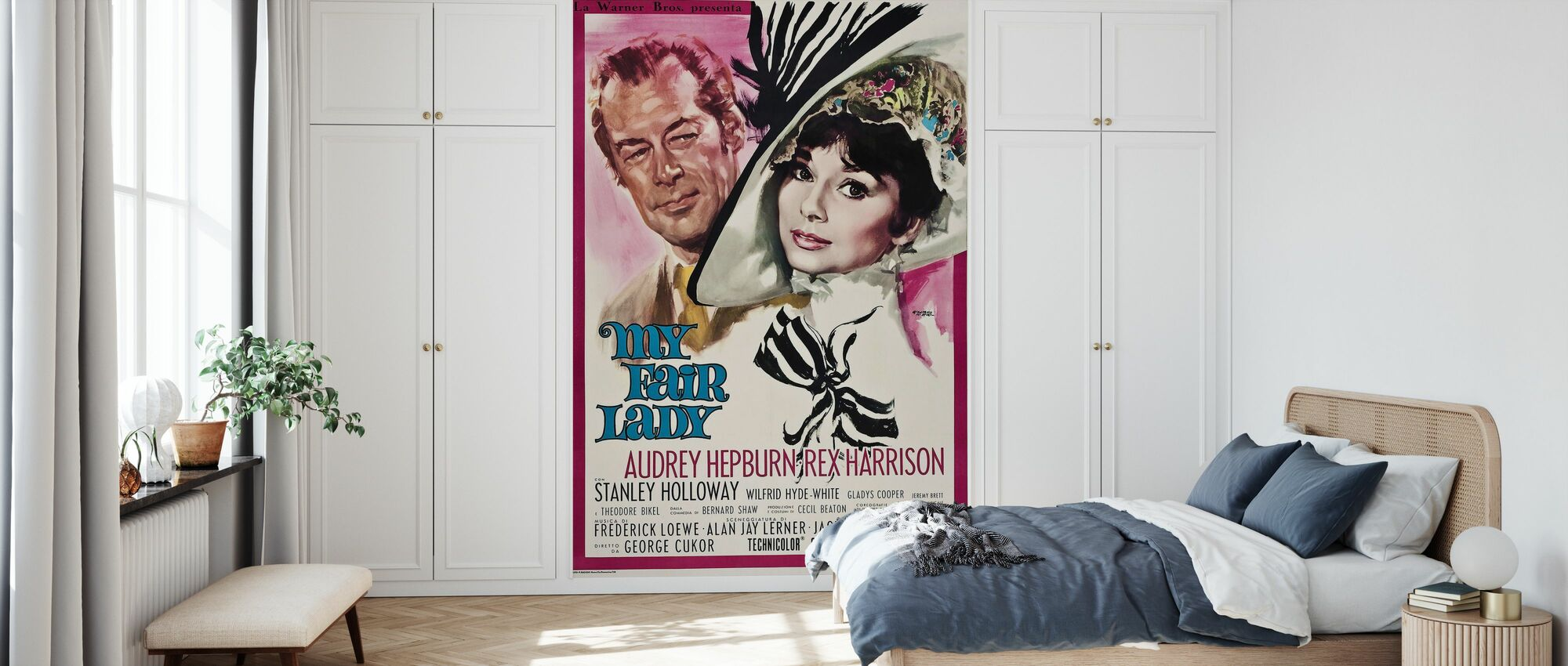 Movie Poster My Fair Lady 2 - Wallpaper - Bedroom