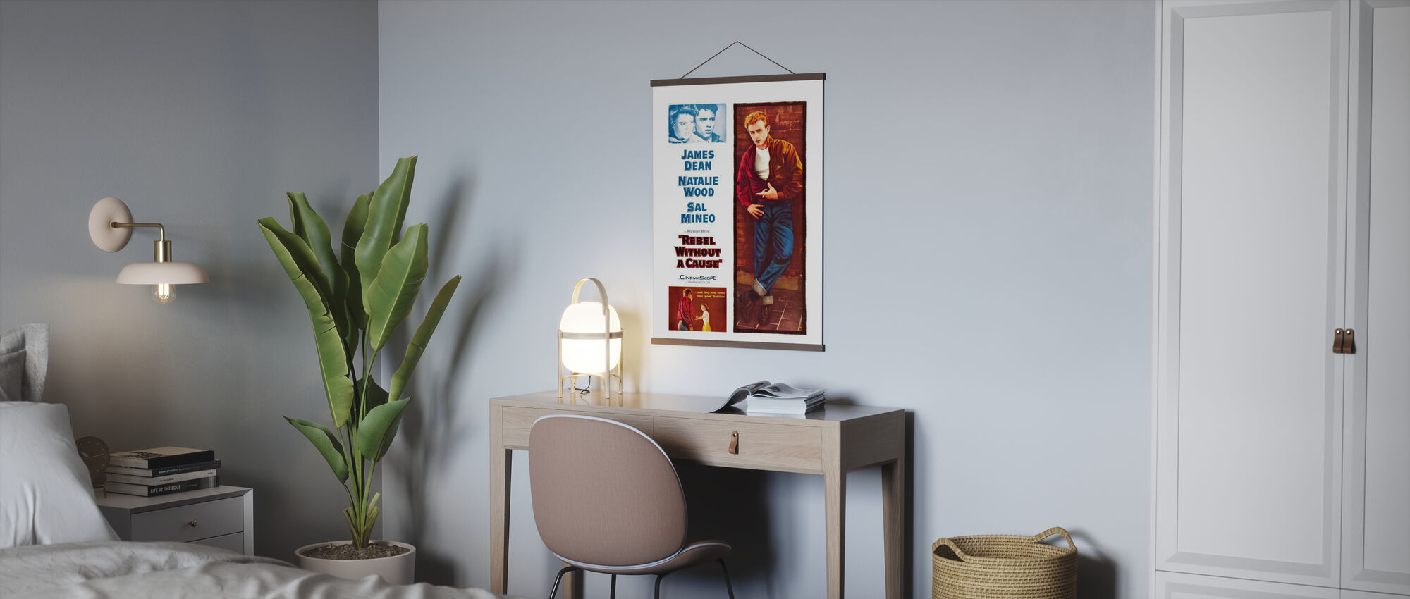 Movie Poster Rebel without a Cause - Poster - Office