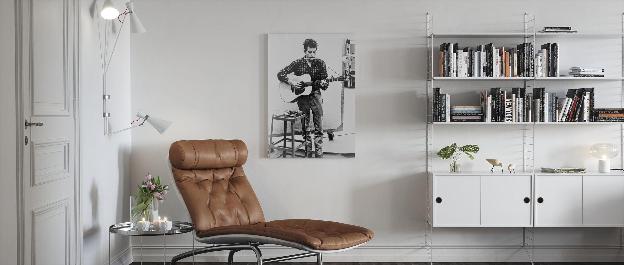 Mr Tambourine Man - Canvas print - Living Room