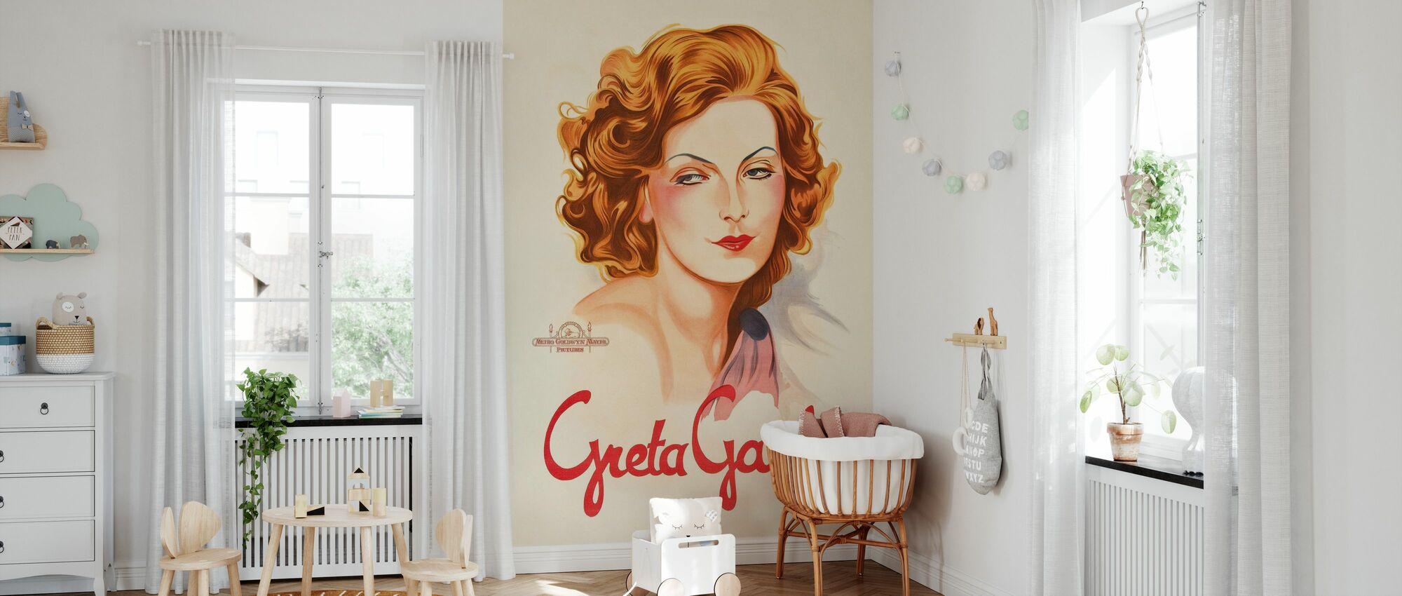 Old Movie Star Poster - Wallpaper - Nursery