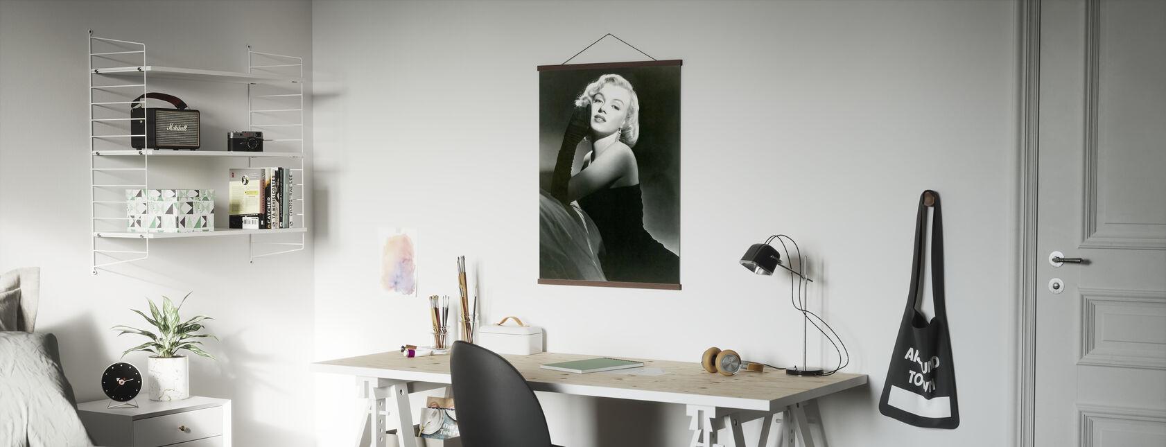 Porträtt Av Glamour - Poster - Kontor