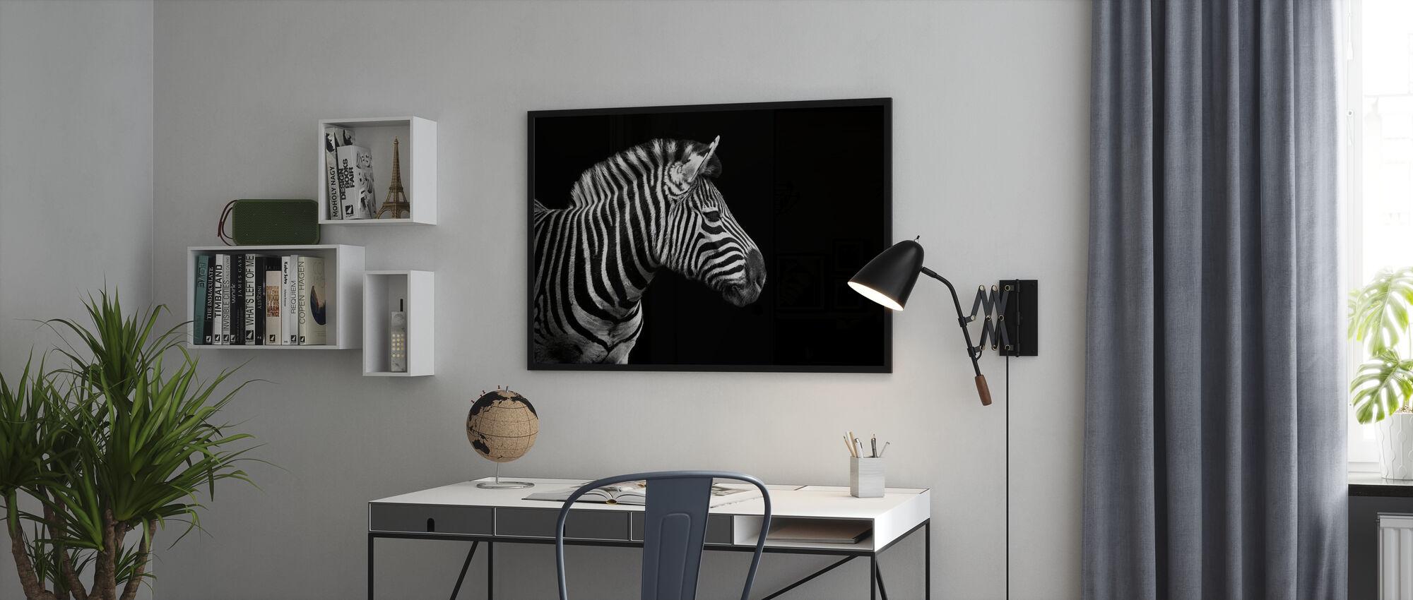 Zebra - Poster - Office