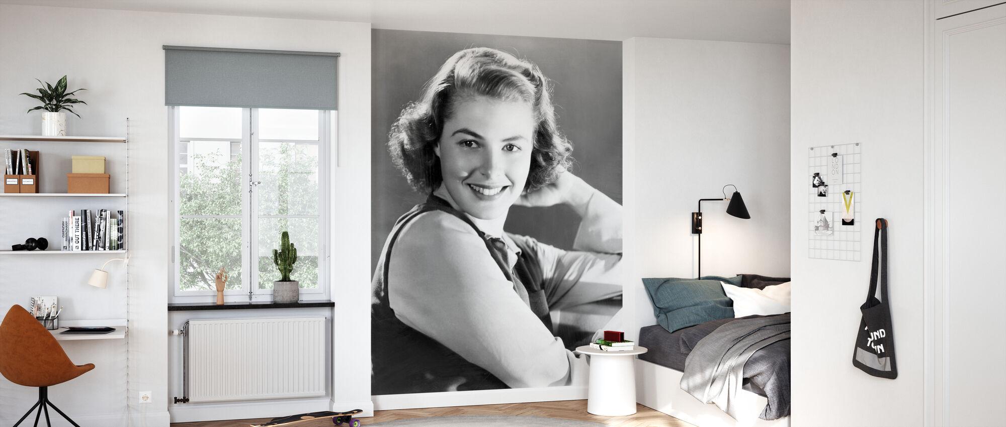 Swedish Hollywood Icon - Wallpaper - Kids Room