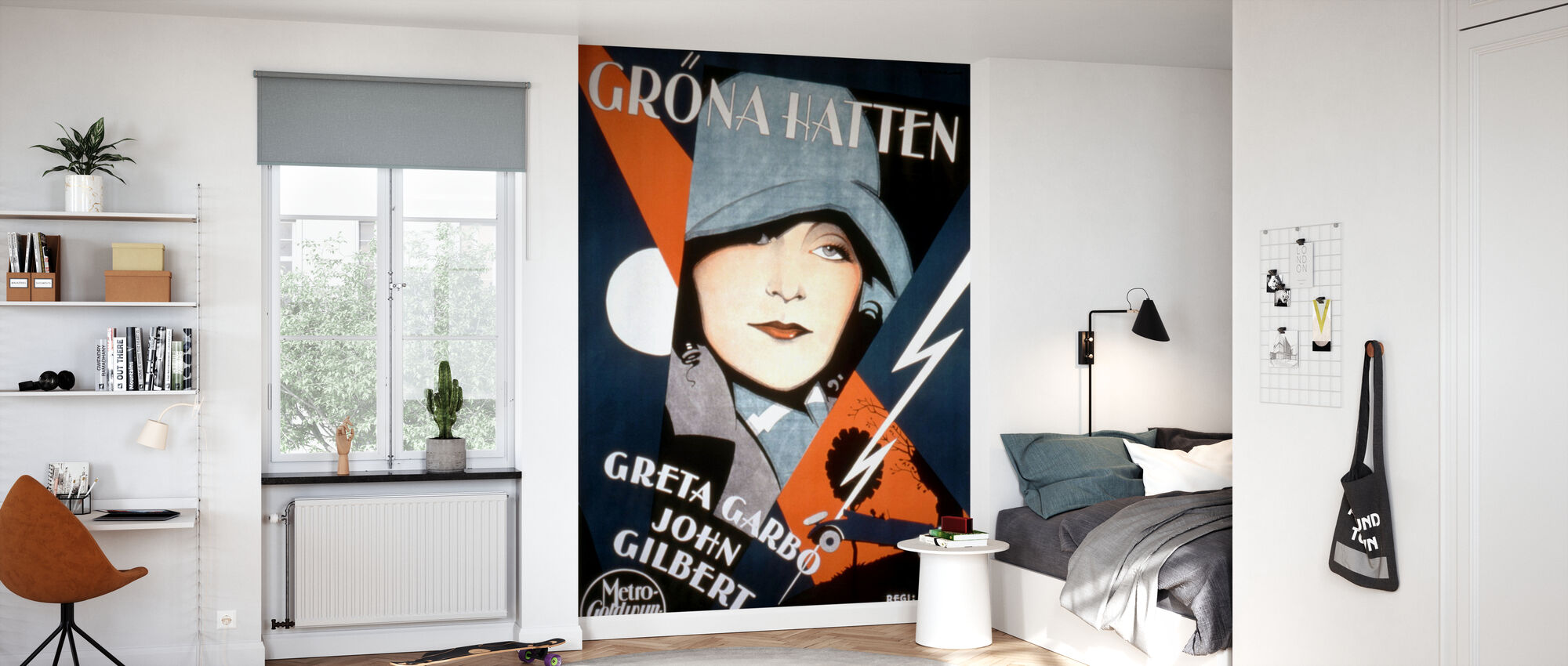 Swedish Movie Poster A Woman of Affairs - Wallpaper - Kids Room