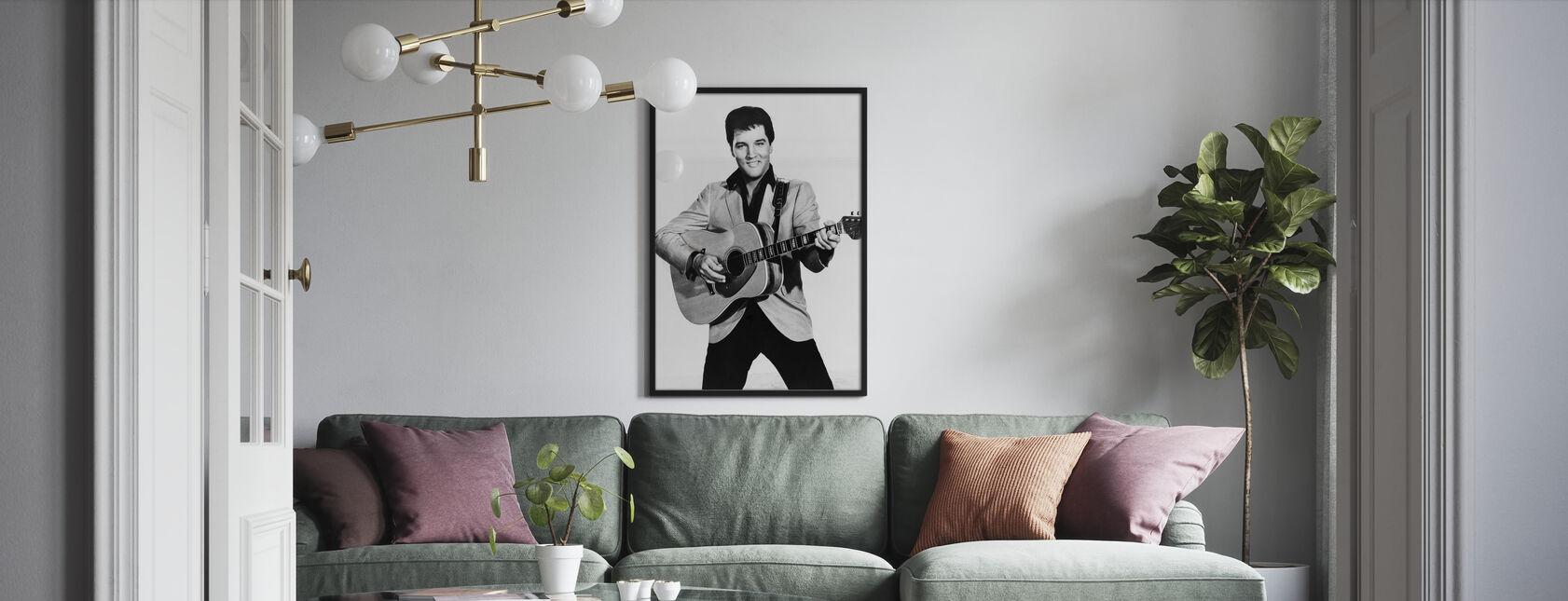 The King 1960s - Poster - Living Room